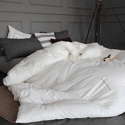 MMM Edredon en coton Hiver plus épais Conserver doux Double conditionnement de l'air conditionné Couvre-lit simple (taille : 200 * 230cm(3.5kg))
