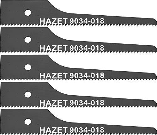 HAZET Stichsägeblatt-Satz (5teilig, 18 Zähne, für HAZET 9034 P-2) 9034-018/5