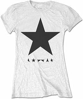 DAVID BOWIE デヴィッド・ボウイ (Space Oddity発売50周年記念) - Blackstar/Tシャツ/レディース 【公式/オフィシャル】