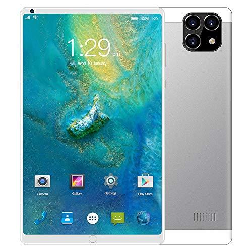 ELLENS Tableta de 8 Pulgadas Android 6.0, Phablet 3G Desbloqueado con Ranuras para Tarjetas SIM y cámaras Dobles, Tablet PC con WiFi, GPS, Bluetooth
