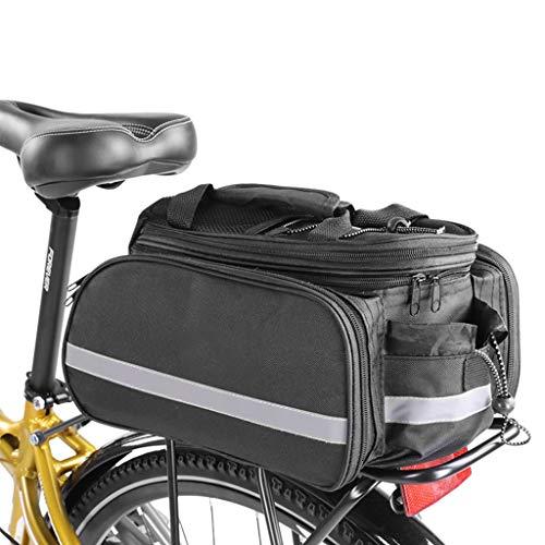 XY&CF Hintere Fahrradtasche, Fahrradgepäckträger-Tasche-Wasserdichtes Fahrrad-Trunk, Profi-Fahrrad-Reitzubehör
