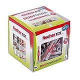fischer - Cheville bi-matière et multi-matériaux DUOPOWER 8x65 / Boîte de 50