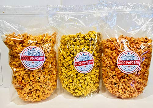 Great Features Of Spicy Popcorn Lovers Trio Jalapeno Sriracha and Buffalo Breath