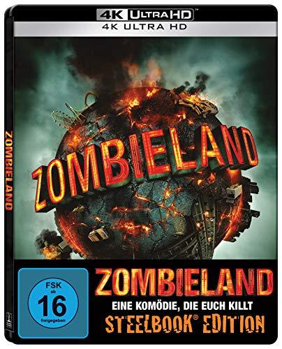 Zombieland (SteelBook 4K UHD) [Blu-ray]