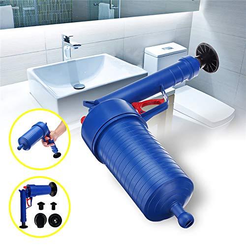 Huishoudelijke Plunger Wc-Reiniger, Hogedrukpomp Shockwave/Air Drain Box Loodgieters, Badkamer Toilet Keuken Cleaning Kit