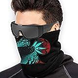 Emonye Abstract Beta Fish Microfib Polyest Seamless Windproof Bandana & Face Mask & Neck Warm Gait Shield - for Mens Womens