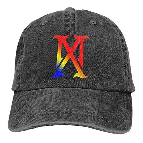 FUGVO Unisex Madonna-Madame-X Casacca per Cappello da Cowboy in Denim Regolabile per Adulti Popolare