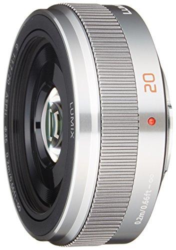 パナソニック 単焦点レンズ マイクロフォーサーズ用 ルミックス G 20mm F1.7 II ASPH. シルバー H-H020A-S