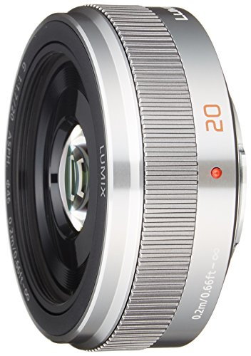 Panasonic 20 mm/F 1,7 II LUMIX G ASPH-20 mm Objektiv (Micro Four Thirds-Anschluss,True)
