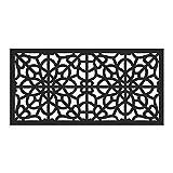 Barrette Outdoor Living 73004786 2X4-Fretwork Sheeting, Black