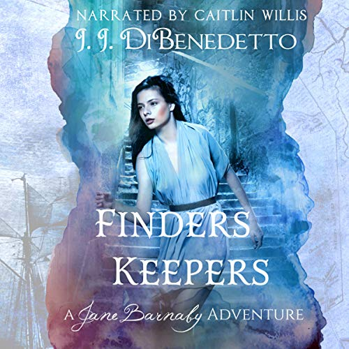 Finders Keepers     The Jane Barnaby Adventures, Book 1              By:                                                                                                                                 J.J. DiBenedetto                               Narrated by:                                                                                                                                 Cait Frizzell                      Length: 6 hrs and 27 mins     40 ratings     Overall 4.3
