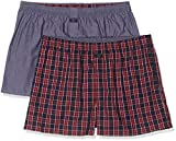 s.Oliver 26.899.97.4295 Boxer, Multicolore Check & Solid Blue 11c4, X-Large (Taille Fabricant: 7) Homme