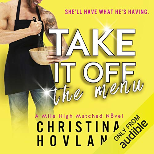Take It Off the Menu audiobook cover art