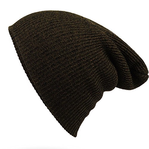 Gestreifte Nadel Warm-Hut - iParaAiluRy Unisex Luxurious modern Weiche Slouchy Knitting Wool Cap Beanie Hut im Winter und Frühjahr