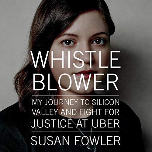 Whistleblower audiobook cover art