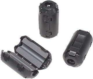 KAUMO フェライトコア φ3.5mm 10個パック 耐高温 耐腐食 耐摩耗性 ノイズフィルター ノイズ吸収