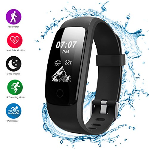 9. Helthyband H107P Fitness Tracker