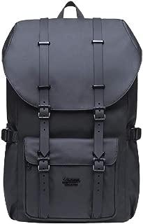 KAUKKO 30L Platinum Double Black Laptop Backpack (PLT16)