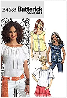Butterick Sewing Pattern 4685 - Ladies Top Sizes: 16-18-20-22