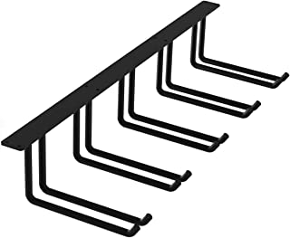 FRMSAET Ceiling Mounted Storage Heavy Duty Metal 48 inch Overhead Garage Storage Rack Tools Holder Hanger Garage Bracket Wall Organization Storage Shelf System-Easy to Install (Large, 1 Pack)