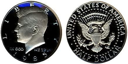 1985 S Gem Proof Kennedy Half Dollar US Coin 1/2 DCAM US Mint