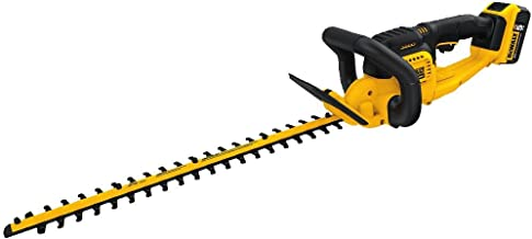 DEWALT DCHT820P1 Hedge Trimmer, Black/Yellow