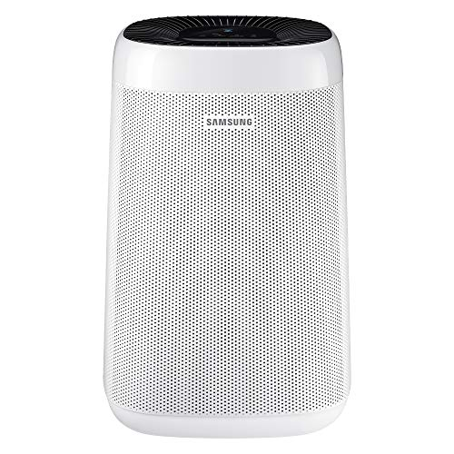 Samsung Purificador de aire AX34R3020WW/EU aire visiblemente limpio sensor polvo sistema de purificación modo auto seguridad niños color blanco