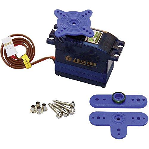 Bluebird Standard-Servo BMS-620DMG Digital-Servo Getriebe-Material: Metall Stecksystem: JR