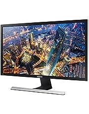 "Samsung U28E570 - Monitor de 28""(4K, 1 ms, 75 Hz, FreeSync, Flicker-Free, LED, 16:9, 1000:1, 370 cd/m², 170°, 2x HDMI, DisplayPort, Soporte VESA) Negro Metálico / Plata"