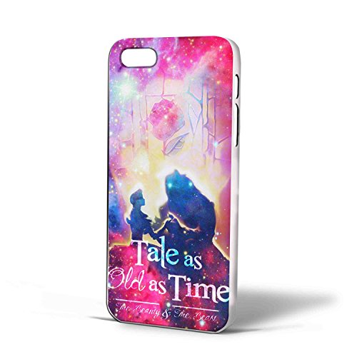 Beauty and the Beast Quote for Iphone Case Cover (iPhone 6 plus White)