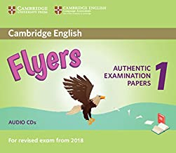 Cambridge English Young Learners 1 for Revised Exam from 2018 Flyers [Lingua inglese]: Authentic Examination Papers from C...