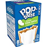 Pop-Tarts, Breakfast Toaster Pastries, Frosted Crisp Apple, Good Source of 3 B Vitamins, 13.5oz Box (8 Count)