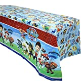 "3 Pack Paw Dog Patrol Themed Birthday Party Decorations – Disposable PAW Dog Patrol Plastic Tablecloth, 71.25 x51.96 "",Table Cover Party Supplies for Kids"