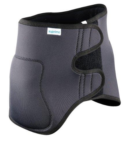 Suprima PHYSIOprotect Hüftschutzgürtel mit integrierten Protektoren L anthrazit