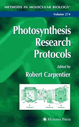 Photosynthesis Research Protocols (Methods in Molecular Biology) by Humana Press (2004-06-08)
