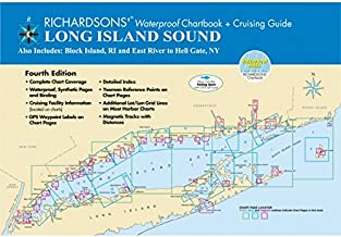 Richardson's Maptech Waterproof Chartbook and Cruising Guide Long Island Sound
