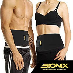 MAXIMIZE YOUR WEIGHT LOSS – Stomach and belly fat can be some of the hardest to burn. That's why we've designed this waist support to target your abdominal area, raising its temperature to make you sweat more and maximize your weight loss. LATEX-FREE...
