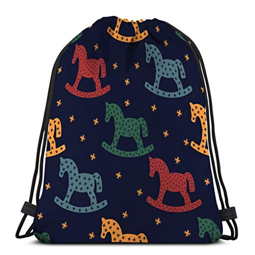 JHUIK Drawstring Bag Backpack,Mochila con cordón Bolsa de Gimnasio Deportivo para Mujeres Hombres...