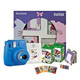 Perfect Gift- Fit for Birthday's, Baby Shower, Rakshabandhan or any other celebration Memories For Future- Click your beautiful memories and save them with Instax Album and Instax Magnets Mini 9 Camera- Shake up your life with the Fujifilm instax min...