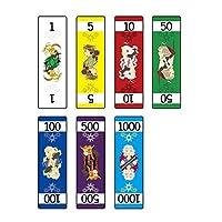 XTAROT 紙製ポーカーチップ カード マネー カウンター 箱あり (112枚)