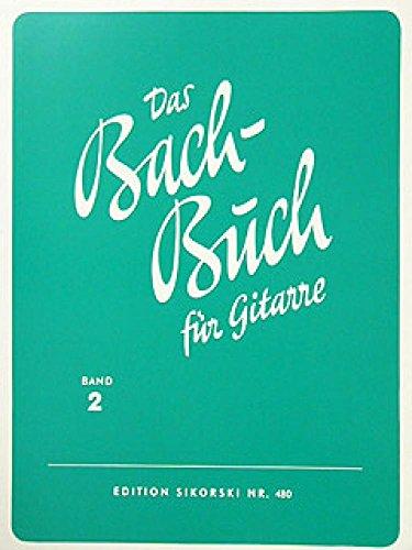Bach Buch 2. Gitarre