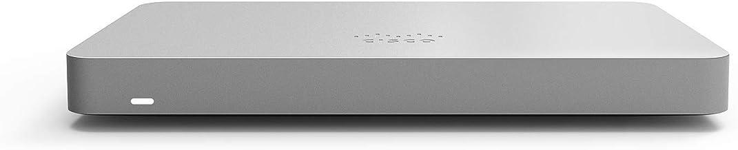 Cisco Meraki MX67 Cloud-Managed Security Appliance | MX67-HW | 450 Mbps throughput | Firewall and DHCP Device