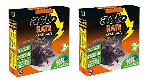 Maisange ACTO - APPAT maïs Rats - Mortel Meme A Faible Dose - RAT8