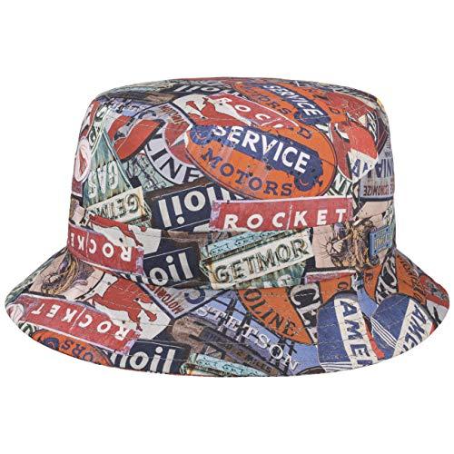 Stetson Classic Cars Bucket vishoed stoffen hoed vishoed zomerhoed zonnehoed strandhoed heren - made in de EU voorjaarszomer