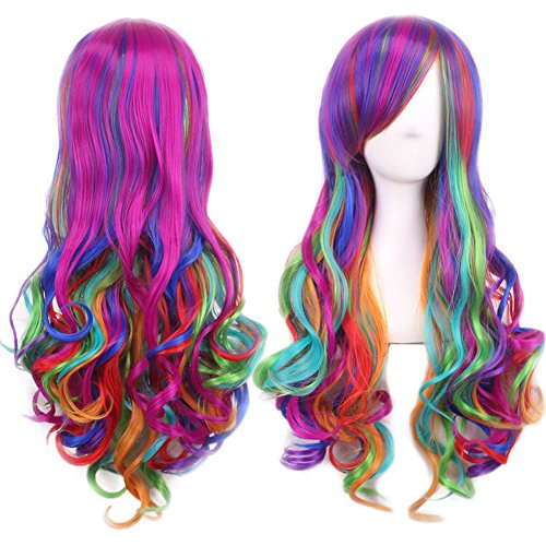 conseguir pelucas arcoiris en internet