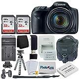 Canon PowerShot SX540 HS Digital Camera 50x Optical Zoom– Wi-Fi + 64GB Memory Card + Camera Bag +...