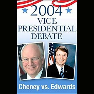 2004 Vice Presidential Debate audiobook cover art