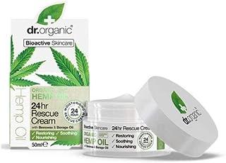DR ORGANIC Rescue Cream Organic Hemp Oil, 50 Milliliter