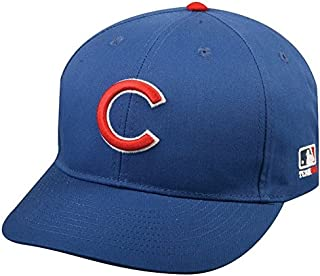Outdoor Cap Chicago Cubs Youth MLB Licensed Replica Caps/All 30 Teams, Official Major League Baseball Hat of Youth Little League and Youth Teams