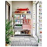 IKEA MULIG - Estantería blanca (120 x 34 x 162 cm)